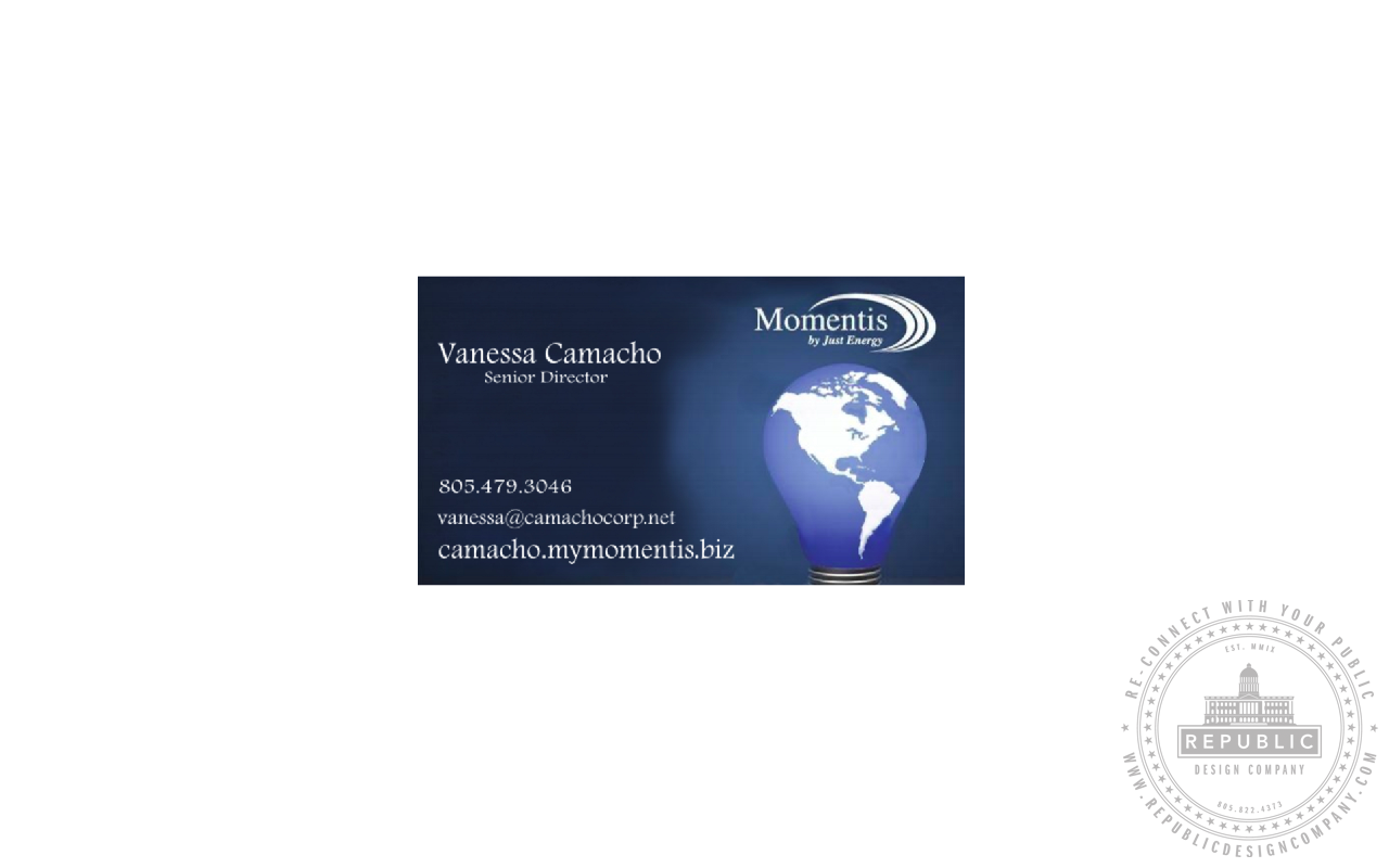 Logo/Identity RE-design + Business Card – Republic Design Company