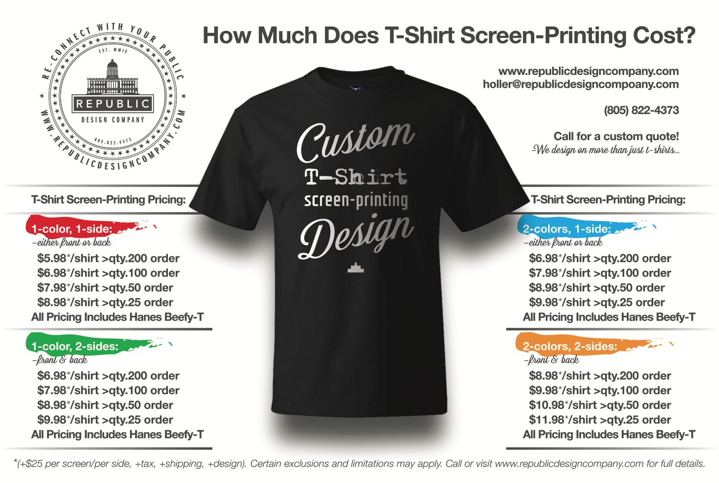 screen print - Republic Design Company
