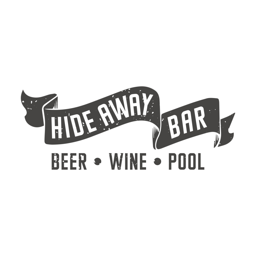 hide_away_bar_logo_design