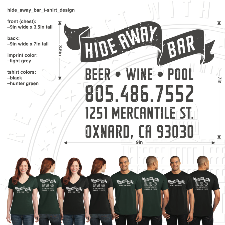 hide_away_bar_t-shirt_design